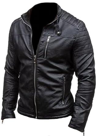 Classyak Veste Mode Rob de qualité supérieure en Cuir