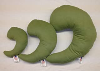 product image for NuAngel Greenbow Support Pillows - (Small, Medium, Large) - Made in USA! (Sage Green)