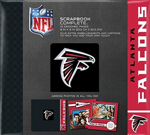 (C.R. Gibson Scrapbook Complete Kit, Small, Atlanta Falcons)