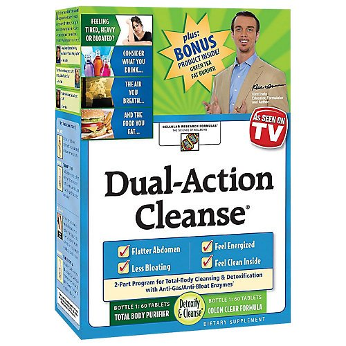Dual Action Cleanse Kit - Applied Nutrition Dual Action Cleanse Kit with Green Tea Fat Burner Bonus