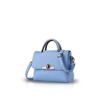 eb951b1928 Nicole Doris new bag ladies fashion handbags mini shoulder messenger bag  women purse(Azure)