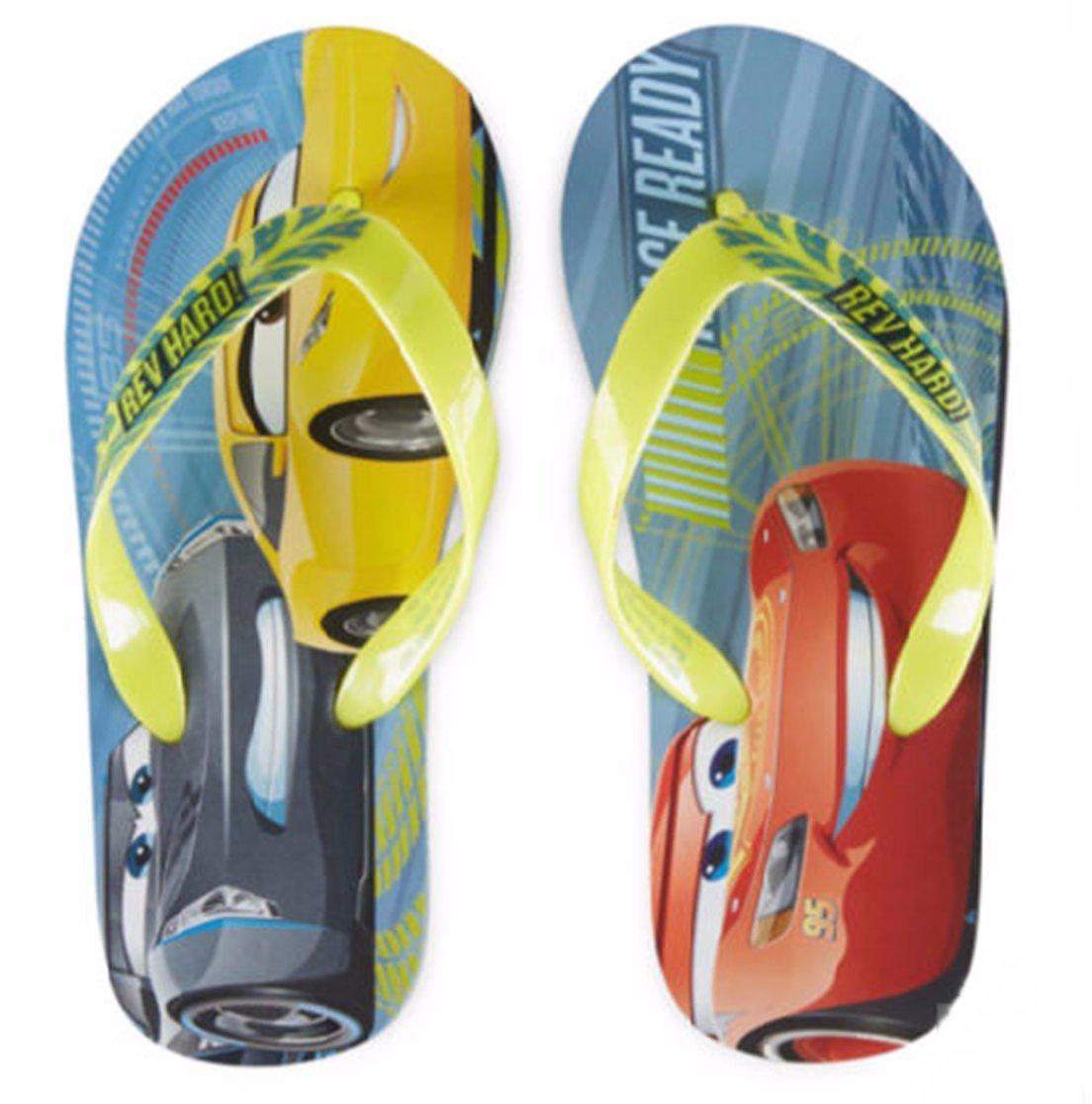 Pixar Disney Cars Lightning McQueen Sandals//Flip Flop//Slippers for Kids