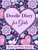 **Best Selling Doodle Diary**This beautifully designed Doodle Diary for Girls inspires young artists to embrace their own artistic expressions through drawing and writing. Doodling inspires creativity at any age. This journal works well for both youn...