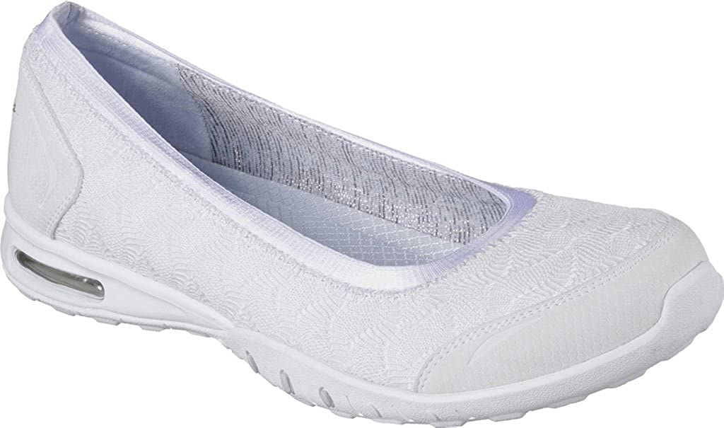 Skechers Womens Relaxed Fit Easy Air Join Me Skimmer,White
