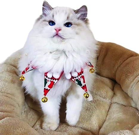 Eastlion Pañuelo Navideño para Perros Bufandas para Mascotas ...
