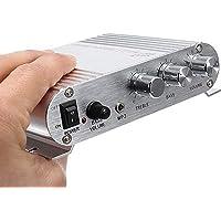 Voupuoda Mini Auto Amplificador de Altavoz de 3