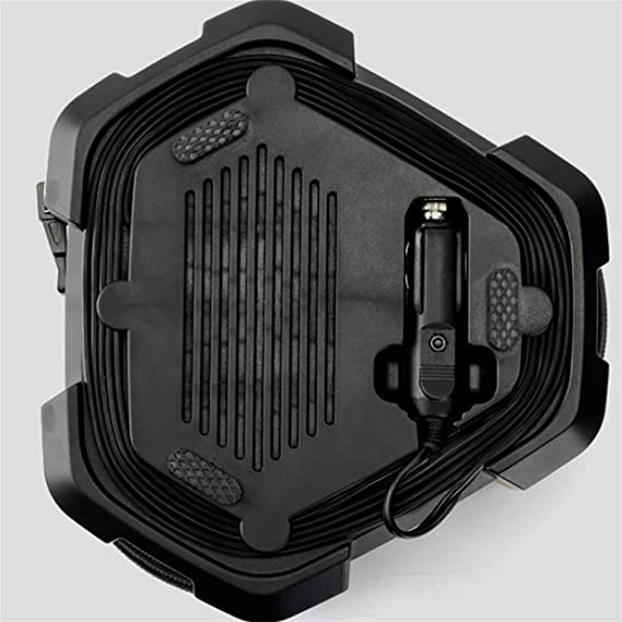 LPY-Bomba del compresor de aire del coche eléctrico del inflador 12V 120W del neumático de coche (cilindro 19 con el indicador): Amazon.es: Deportes y aire ...