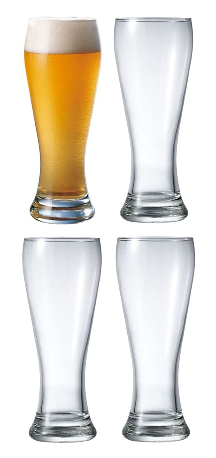 Durobor Danube Beer Lager Glass Glasses 660ml Set of 4