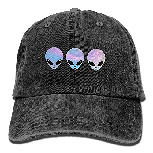 Cap Women Men And Aliens For Three Jeans Baseball Holo Psychedelic Vintage x8YPqzvPw