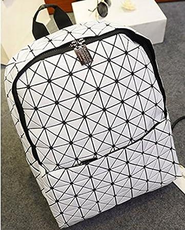 274cdcc2cd Amazon.com   BAO BAO Issey Miyake Hiker Style Basics Backpack Womens mens(White)    Baby
