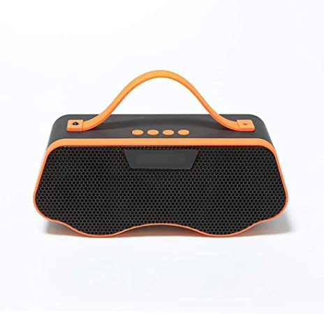YXF Smart Speaker Retro Bluetooth Wireless Speaker Altavoz Dual al Aire Libre Radio portátil de Carga Cuadrada del Altavoz Dance (Color: Azul) (Color : Orange): Amazon.es: Hogar