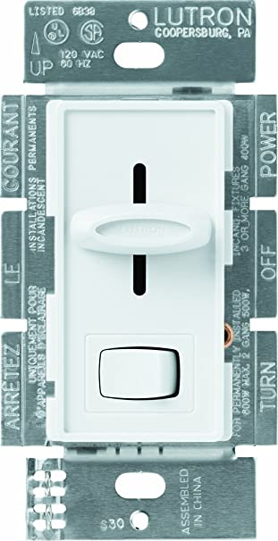 Lutron SPWH Skylark Way Dimmer With OnOff Switch Watt - What is 3 way dimmer switch
