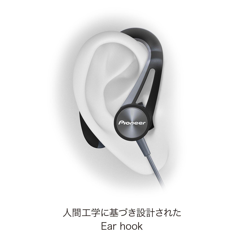 Pioneer e7bt de H Bluetooth Auriculares Deportivos con 7 Horas de Tiempo de Unidad, schweis sresitent, Resistente al Agua Gris: Amazon.es: Electrónica