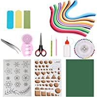 IKevan 260PCS 26 Colours Quilling Strips Quilling Paper 3mm for Quilling Kit DIY Quilling Supplies Handmade Decor A