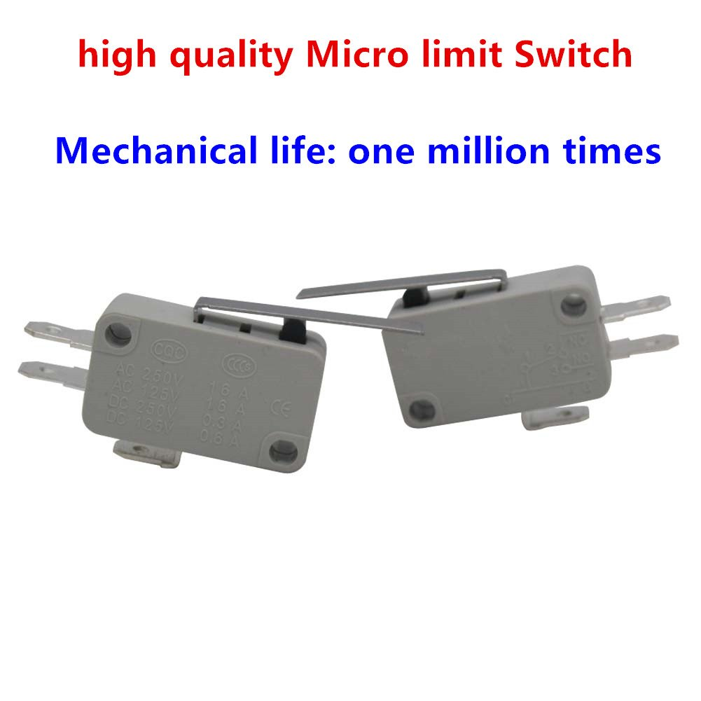 10pcs Universal Microwave Door Oven Freezer Micro Limit Switch Series AC//DC 125V 250V V-15-1C25 Snap Action for Arduino TWTADE