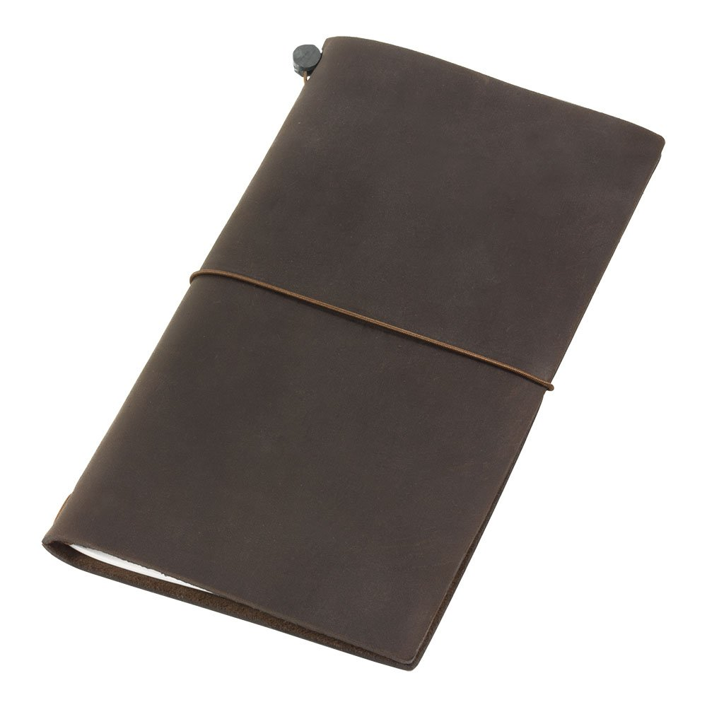 Travelers Notebook Brown Leather (1, 1 LB) by Traveler's Company