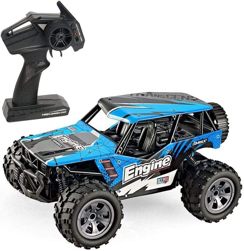 YSKCSRY Coche de Control Remoto 2.4G Radio Drift RC Vehículo Todo Terreno Escalada RC Buggy Recargable Off-Road RC Car Los últimos Modelos en 2021 Juguetes para niños Regalos para niños y niñas