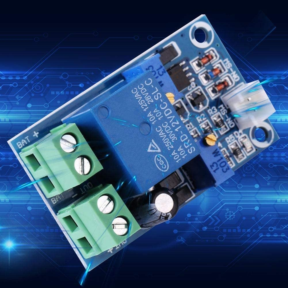 Hazmemejor Low Voltage Cut Off Switch,Undervoltage Protection Board,12V Battery Low Voltage Cut Off Automatic Switch On Recovery Protection Module