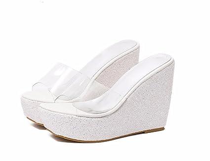 cfb5ba49476 Amazon.com : GTVERNH Women's shoes/summer shoes/Sexy Waterproof ...