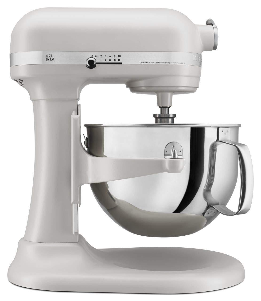 KitchenAid KP26M1XMH 6 Qt. Professional 600 Series Bowl-Lift Stand Mixer - Milkshake Color