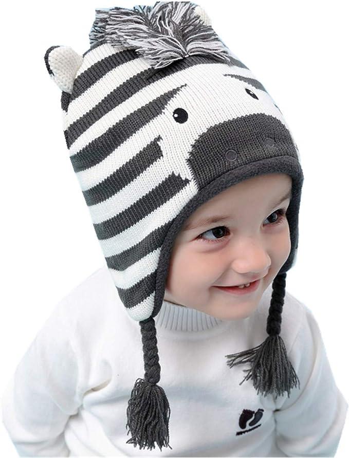 Tyidalin Sombreros Niño Infantil Bebé Invierno Orejeras Earflap ...