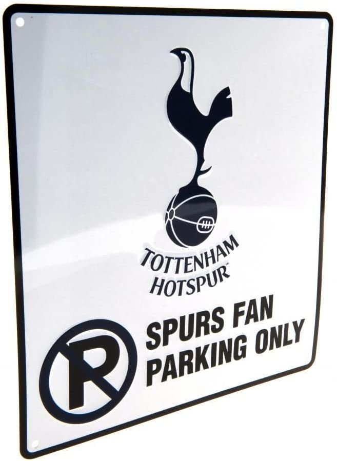 Tottenham No Parking Sign 23cm X 25cm One Size Amazon Co Uk Kitchen Home