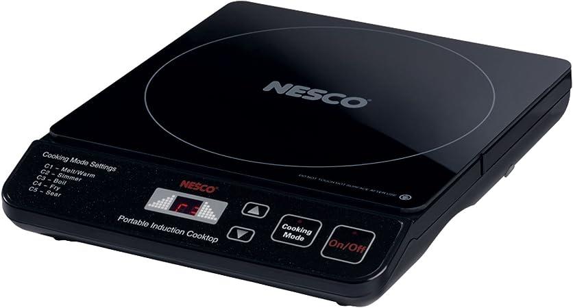 Amazon.com: Nesco pic-14 portátil Inducción, Vitrocerámicas ...