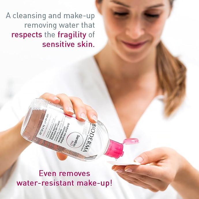 敏感肌适用 Bioderma 贝德玛 舒颜洁肤液卸妆水 500ml $14.9 海淘转运到手约¥105 S&S方式订购可再优惠5%