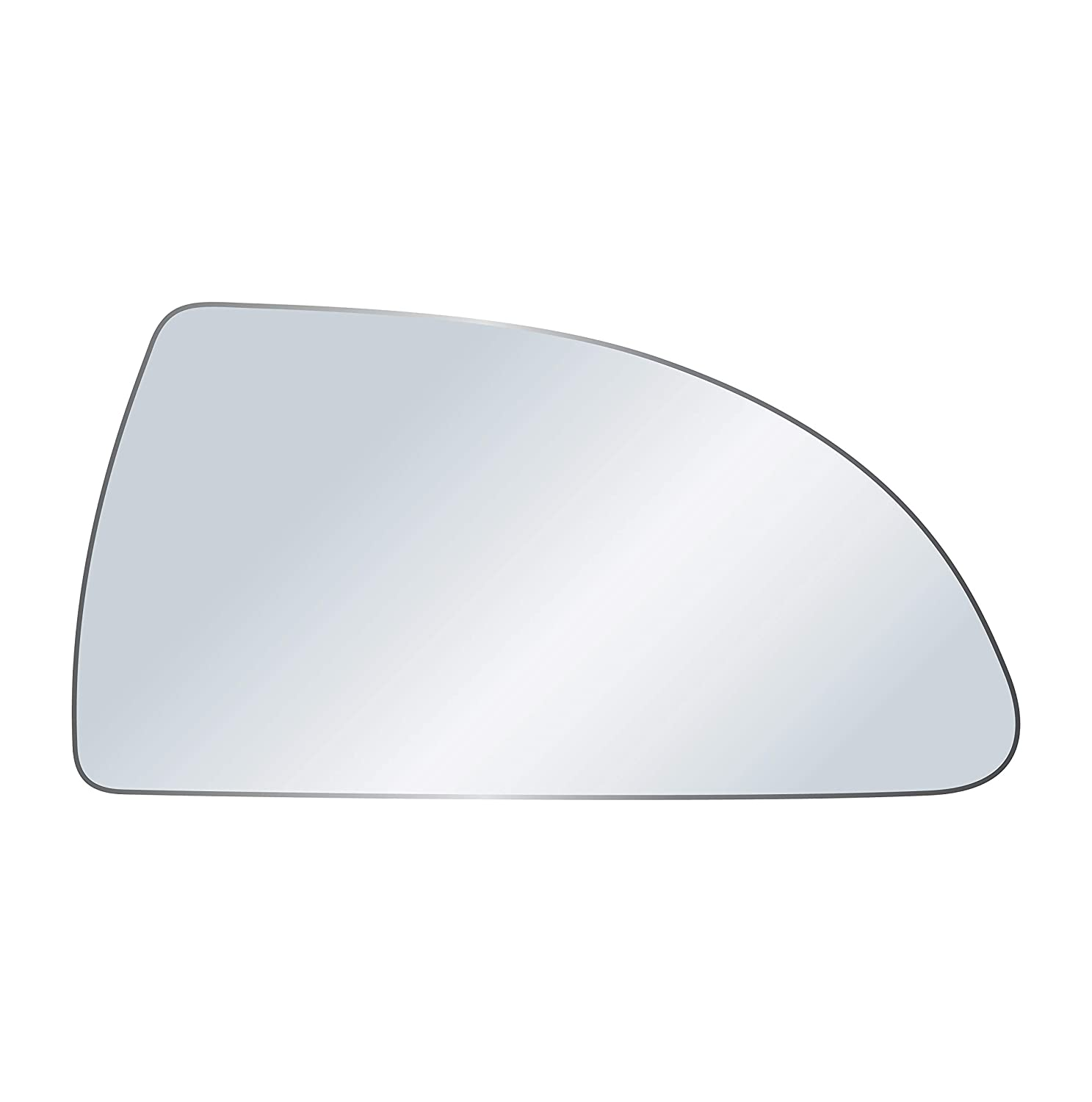 exactafit 8991R Replacement Passenger Side Right Hand Mirror Glass Compatible With 2006-2013 Chevrolet Chevy Impala 2014-2016 Impala Limited By Rugged TUFF