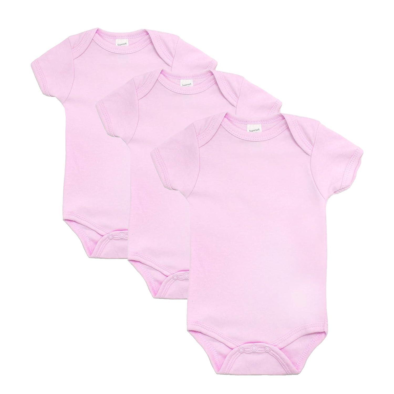 545a6b4c0 Soft Touch Baby Bodysuits Vests - Plain Cotton