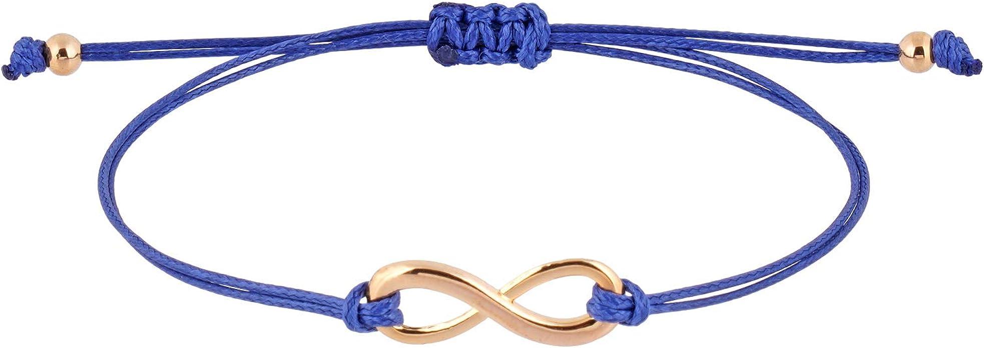 2 Stück Damen Mädchen Freundschaftsarmbänder Unendlichkeit Armband Silber Strass
