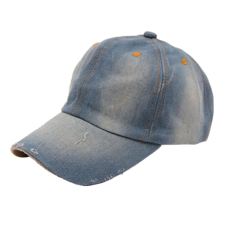 Unisex Baseball Kappe DDLBiz® Mode für Männer Frauen Jean Sport Hut Lässige Denim-Baseballmütze-Hut