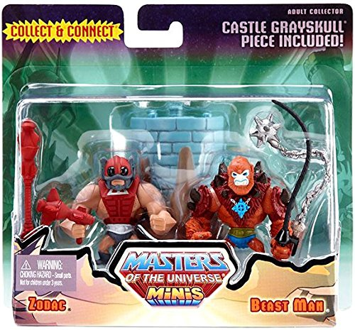 Universe Mini Figures - Masters of the Universe Minis Zodac & Beast Man Exclusive Mini Figure 2-Pack