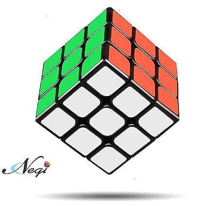 Negi MoYu Black Base 3x3x3 Puzzle Cube Toy (3x3 Black Base)