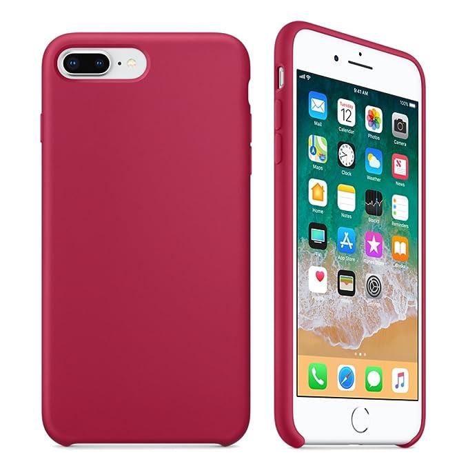 Amazon.com: Keklle - Funda de silicona para iPhone 7 Plus ...