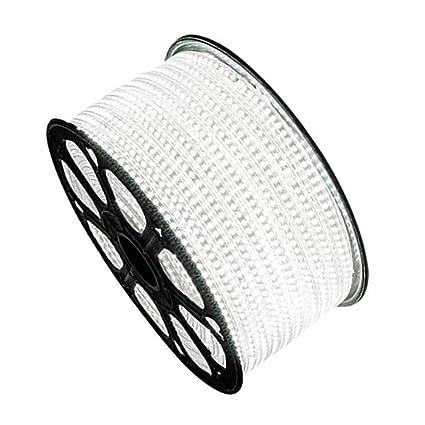 Express-10M-100M Waterproof 5050 LED Strip 110V 220V 60leds//m Flexible Rope Tape