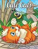 #2: Cute Cats: An Adult Coloring Book with Funny Cats, Adorable Kittens, and Hilarious Scenes for Cat Lovers