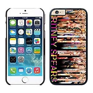 NEW DIY Unique Designed Case For iphone 6 plus Britney Spears iphone 6 plus Black 5.5 TPU inch Phone Case 066