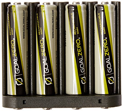 Price comparison product image Goal Zero 11407 AAA NiMH Rechargeable Battery 4 Pack with AAA Insert for Guide 10 Plus