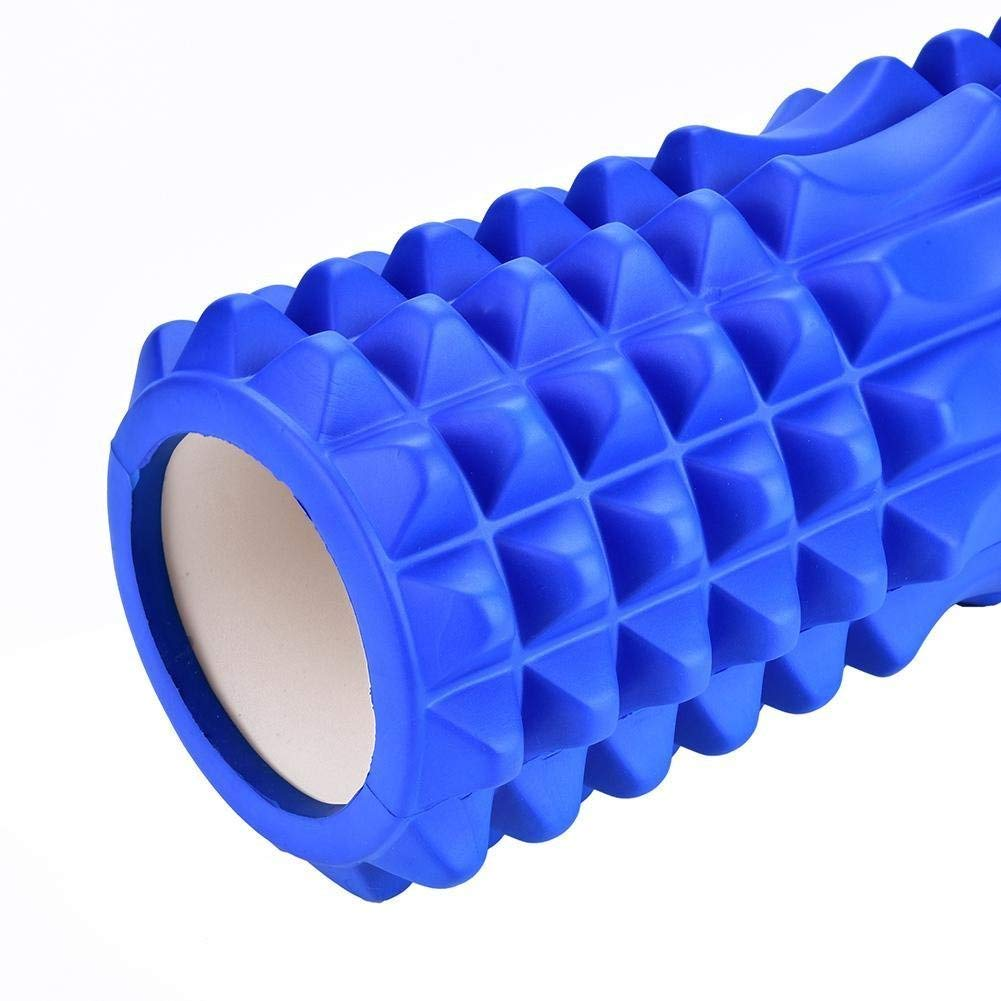 Dream Wings Foam Roller Massager for Trigger Point Physical Therapy Massage Deep Tissue Rollers for Sore Muscles, Pre and Post Workout, Exercise, Recovery, Yoga, Pilates, Cycling and Running (Blue) by Dream Wings (Image #7)