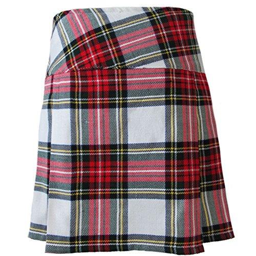 Tartanista - Schottischer Kilt mit Lederriemen - Dress Stewart - 42 cm