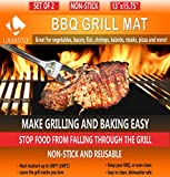Non-Stick BBQ Grill Mats Make Your Cooking a Breeze Enhance Your Grilling Experience Now! - Do you hate when sauce or fat make flare ups while grilling? - Are you sick of spilled food through the grates? - Do you want to grill the smallest, delicate ...