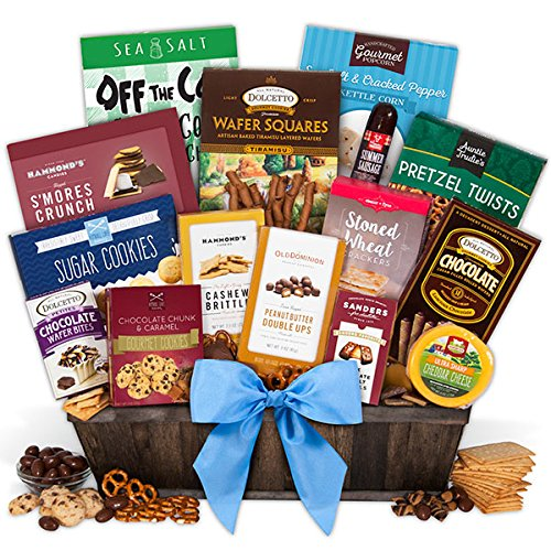 Deluxe Smores - Snack & Chocolate Gift Basket - Deluxe