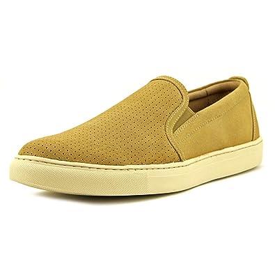 Trask Men's Belmont Perf Camel Water Resistant Suede Sneaker ...