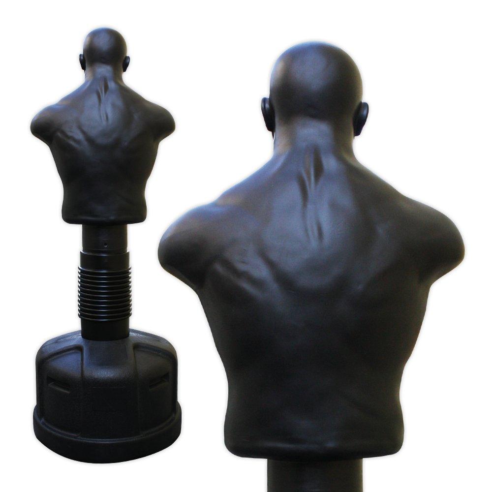 Torso de boxeo para entrenar de altura regulable 153 178 cm de Fox-Fight negro