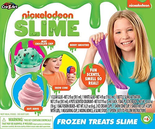 Nickelodeon Frozen Treats Slime Toy, Multicolor ()