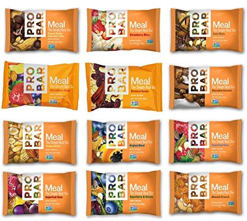 Paquete de variedad de sabor probar comida Bar 12 de 14
