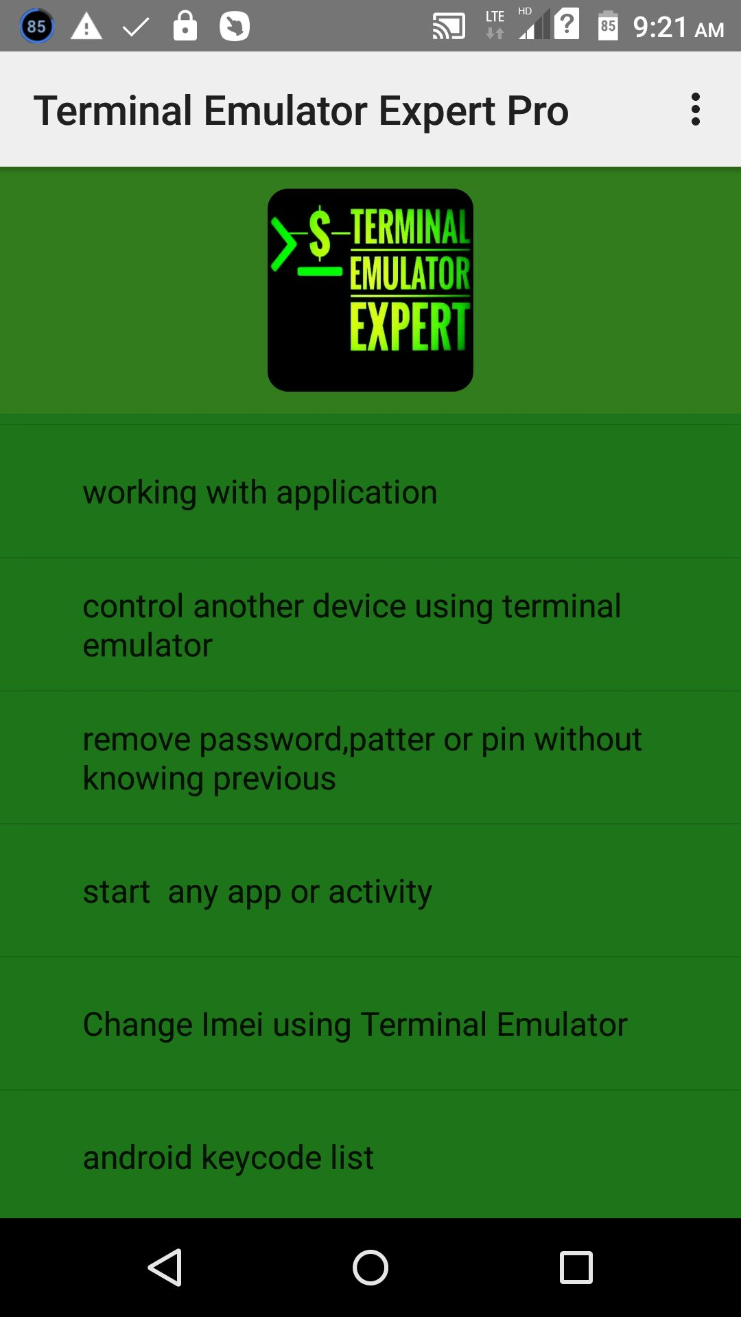 Amazon com: terminal emulator expert pro: Appstore for Android
