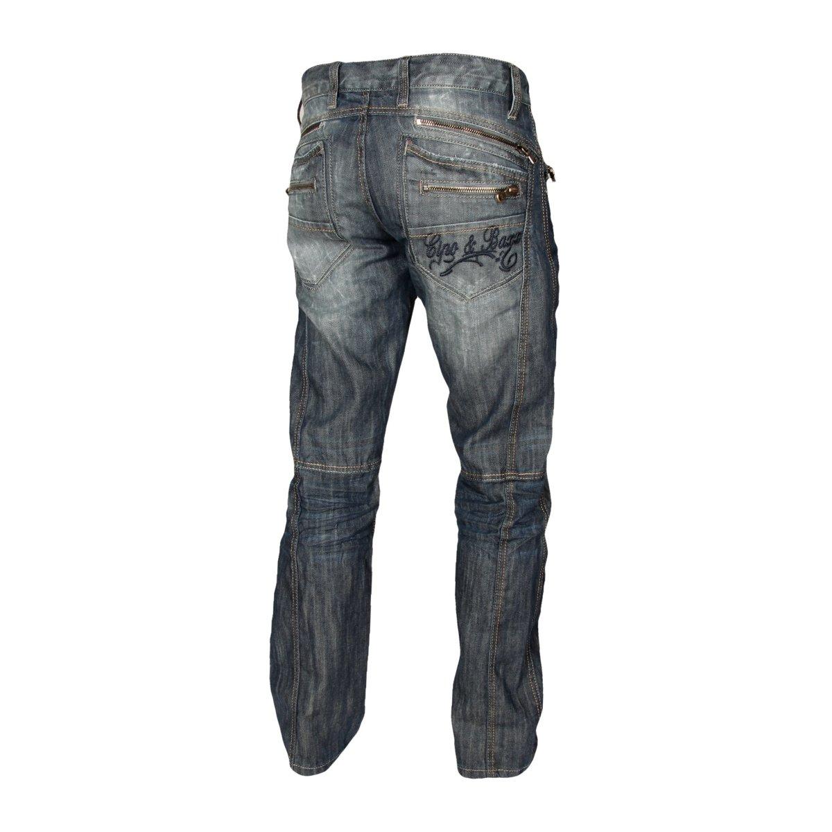 a71d27bcc88b6e Cipo   Baxx Herren Straight Leg Jeans C-0751  Amazon.de  Bekleidung