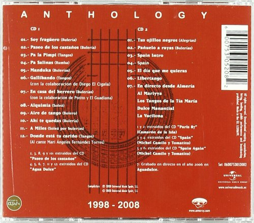 Anthology: Tomatito: Amazon.es: Música